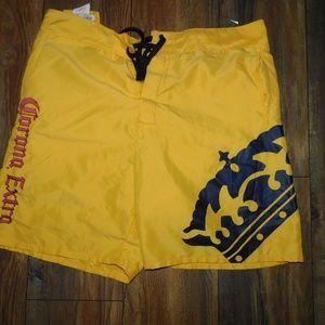 Vintage Corona Extra Swim Trunks